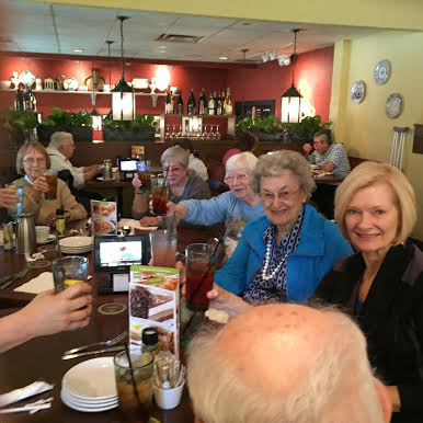 Jan Collins   Lunch At The Olive Garden. We Had Fun, Enjoyed Friends, And  Ate Too Much!!!