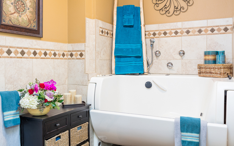 Assisted Living whirlpool spa