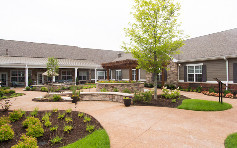 Assisted Living Courtyard