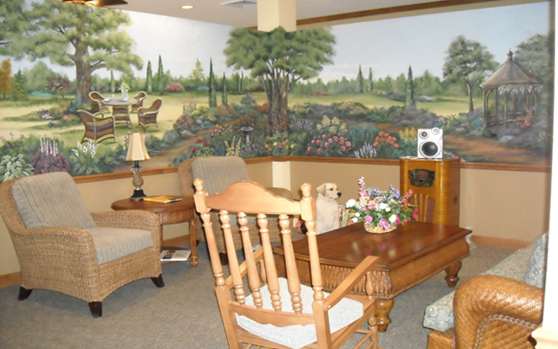 Dementia sitting area