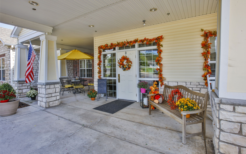 Memory Care Porch