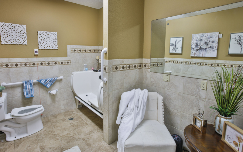Memory Care Whirlpool Spa
